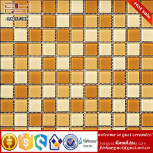 China supply 2017 new trend glass mosaic tile for swimming pool design