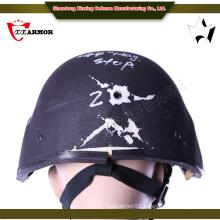 High quality Olive Green ballistic helmet meet usa standard nij iiia