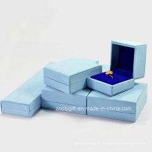 Boîte à bijoux en cuir PU de qualité / Collier / Bracelets / Boîte cadeau Boucles d'oreilles