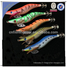 FSQL005 chine en gros alibaba pêche leurre composant moule artificiel calmar