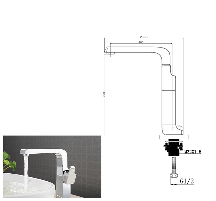 Simple Style Faucet