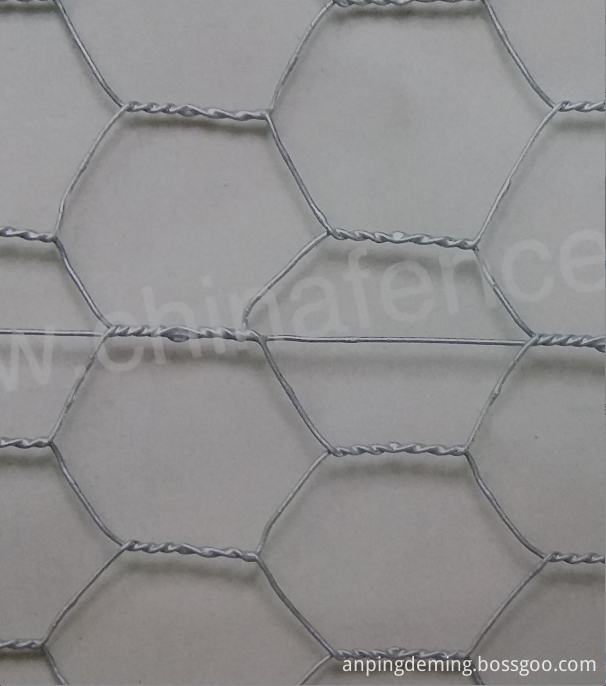 hot dip galvanized after hexagonal wire mesh