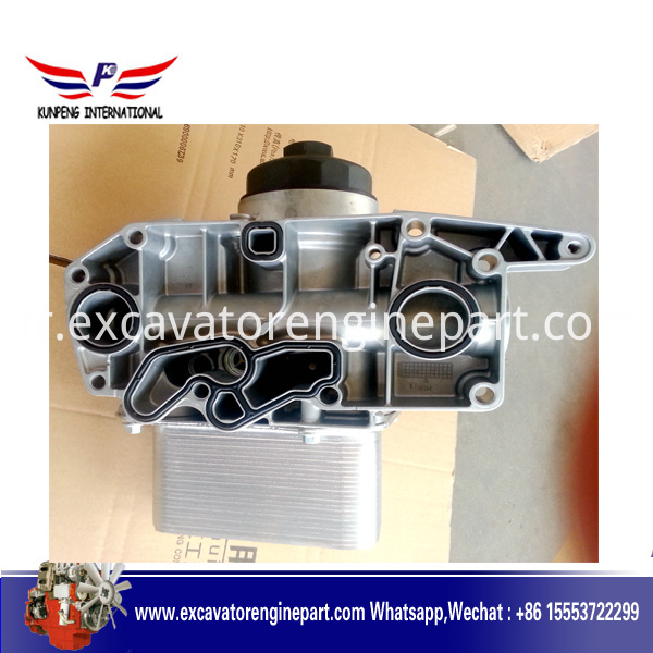 Deutz BF6M2012 Oil Cooler 04252961 04912107 for Volvo Excavator EC210C EC210B M4252961