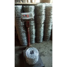PVC Coated Barbed Wire Traditional Twist