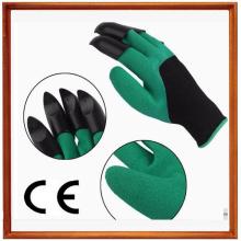 13G señoras guantes de jardín con garras