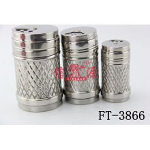 Stainless Steel Salt Canister (FT-3866)