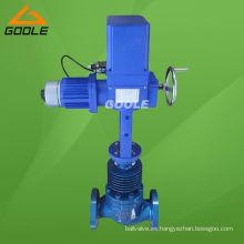 Válvula de control de flujo eléctrico de alta temperatura (GVZAZP)