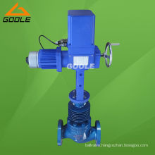 High Temperature Electric Flow Control Valve (GVZAZP)