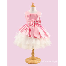 2017 Hot Sale One Piece Baby Girl Child Dress Puffy Party Wear Dress