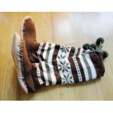 Нескользящие носки для тапочек