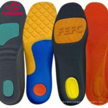 China Manufacture EVA Foam Insole Massage 2 Layers Design For Sports Shoes