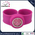 Montre-bracelet de montre-bracelet de silicone de cadeau de promotion de 2015 (DC-935)