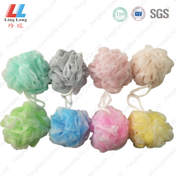 Blotting double mesh bath ball