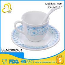 O conjunto de copo de chá de melamina de estilo quente mais recente