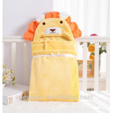 China suppiler keep baby warm and cozy baby hooded towel Baby bath set for kids and girls and boys Handsome lion