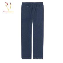 Lã de cashmere masculina de moda malha calças de corrida