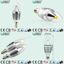 5W 90ra E14 / B15 CREE puce dimmable LED bougie (LS-B305-SB-A-CWWD / CWD)