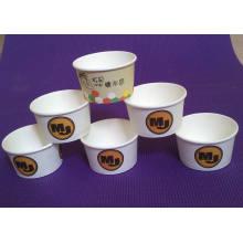 Tasses de crème glacée de tasse / refroidisseur / tasse de Smack / casse-croûte de papier