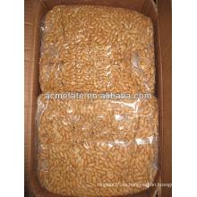 Cacahuetes secos a granel asados y salados