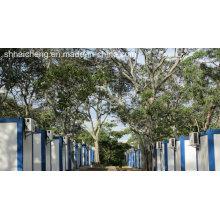 Casa de contenedores para camping en Ghana (shs-fp-camp060)