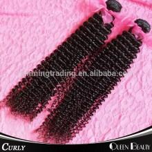 6a Grade 100% Indian Deep Curly Remy Virgin Human Hair Extension