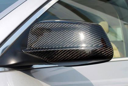 mirror cover carbon