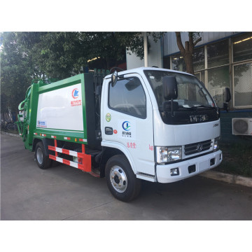 Rear Loader Recycling Roll 3cbm truk pemadat sampah