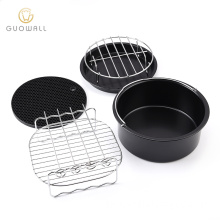 Air Fryer Accessories Set Non-stick Baking Pan