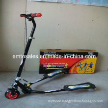 Professional Frog Kick Scooter,Speeder Scooter with PU Light Wheel (ET-FGS004)