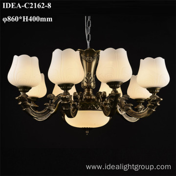 classical decorative crystals drop chandeliers lamp