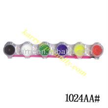 Cor de água de 2 ML 6-strip Pots (encolher)