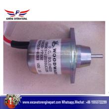 Двигателем Yanmar части соленоида 119233-77932