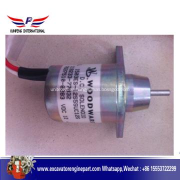 Solenoide de pieza de motor Yanmar 119233-77932