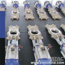 Cl150 d'acier de fonte par l'actionneur pneumatique de valve de porte de couteau de conduit