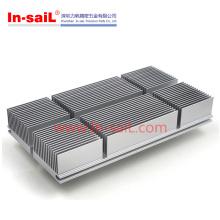 Dissipador de calor extrudado DIN dos perfis do alumínio
