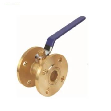Válvula esférica de latão flangeada, Gás Tipo Corrosão, Uso Líquido Válvula Esfera Flangeada De Latão Cobre