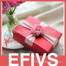 Red delicado favor de la boda Caja Embalaje del proveedor