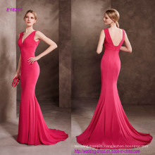 Sensual Draped Bodice Cocktail Dress with V-Neckline and Plunging Back