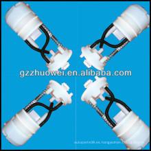 Original Japón 2005 Filtro de combustible de plástico, filtro de gasolina para Qashqai (solo filtro / mitad de montaje) 17040-JE20A-C175