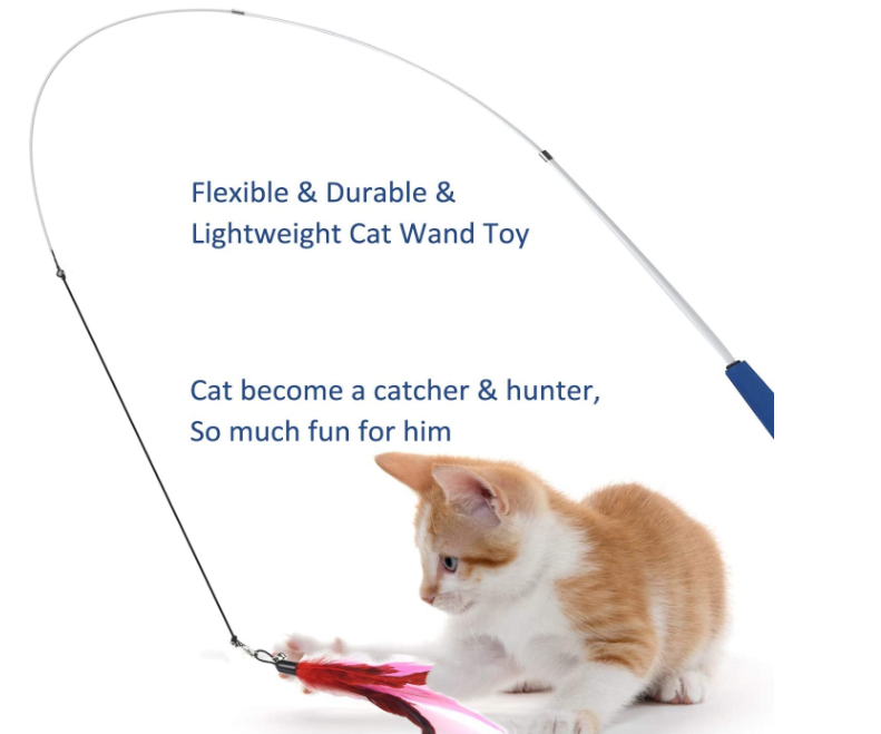 20200pet Cat Feather Toys