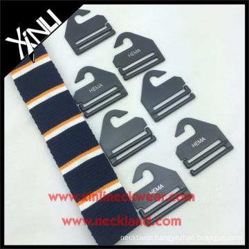 Plastic Tie Hanger with Custom Logo Necktie Hook