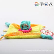 bordado manta de bebé con toalla de baño de juguete animal