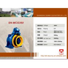 Levantar a máquina de tração de elevador VVVF, 320kg - 2500kg