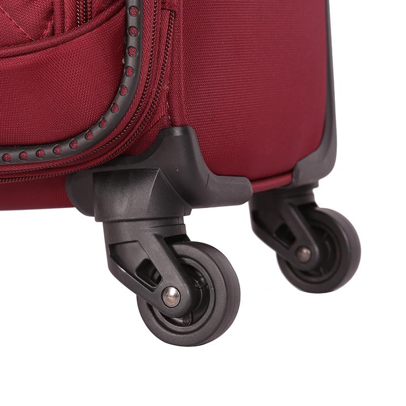soft TSA-lock trolley luggage