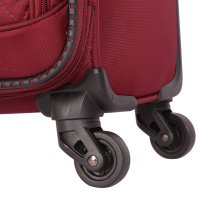 High quality waterproof soft TSA-lock trolley luggage