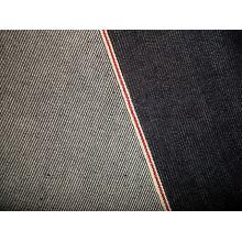 Tissu de denim en coton rouge Selvage