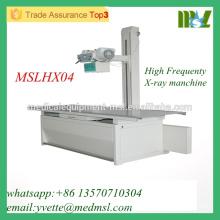 MSLHX04-M Venta al por mayor máquina de rayos X de alta frecuencia 200ma máquina de rayos X para el diagnóstico médico