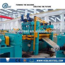 Machine à coupe haute précision en acier à haute précision, machine à tôle d'acier CTL coupée à la machine Lemgth