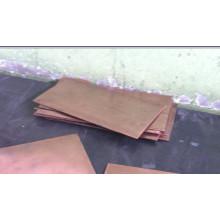 Hoja de cobre de tungsteno / Hoja de aleación de Wcu / Disipadores de calor de embalaje electrónico / Composto de cobre de tungsteno (WCU)