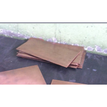 Tungsten Copper Sheet / Wcu Alloy Sheet / Heat Sinks de l'emballage électronique / Tungsten Copper Composite (WCu)